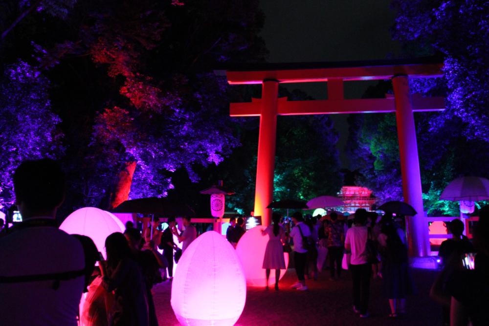 下鴨神社 糺の森の光の祭_2